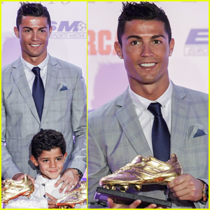 Cristiano Ronaldo Wins Record Fourth Golden Boot Award