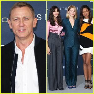 Daniel Craig & 'Spectre' Cast Kick Start Promo Tour In London!