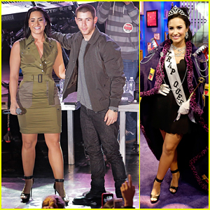 Demi Lovato & Nick Jonas Launch 'Future Now' Tour In NYC!