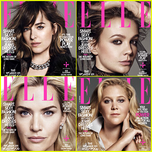 Dakota Johnson, Kate Winslet, Amy Schumer & More Named Elle's Women in Hollywood Honorees