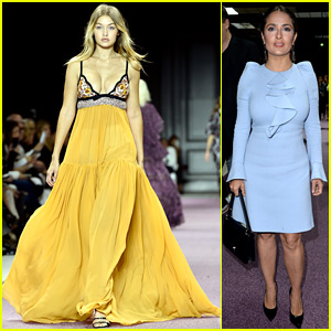 Gigi Hadid Rocks Super Sexy Dress on Giambattista Valli Runway!