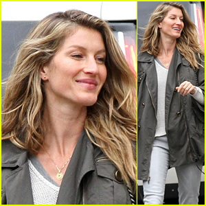 Gisele Bundchen Back in Boston After Trip to New York
