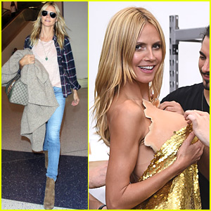 Heidi Klum Gives A Sneak Peek at Her Halloween Costume