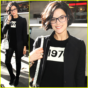 Jaimie Alexander Only Covers 8 of Her 9 Tattoos for 'Blindspot'