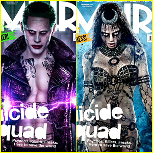 Jared Leto & Cara Delevingne: More 'Suicide Squad' Covers!