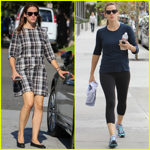 Jennifer Garner Goes Grocery Shopping Before the Weekend