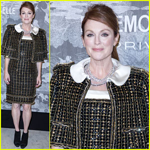 Julianne Moore Leads Hollywood in Fight for Gun Safety