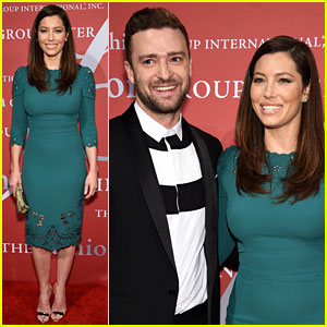 Justin Timberlake & Jessica Biel Are the Hottest Couple at Fashion's Night of Stars!