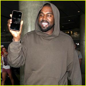 Kanye West FaceTimes Wife Kim Kardashian After Arriving Back In LA