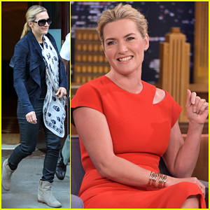 Kate Winslet Gets Silly During Photo Booth Challenge With Jimmy Fallon - Watch Here!