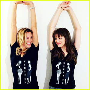 Katie Cassidy & Danielle Panabaker Join Forces for 'Woman Up' Charity Initiative!