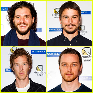 Kit Harington & Josh Hartnett Take Part in 'Children's Monologues' Charity Play