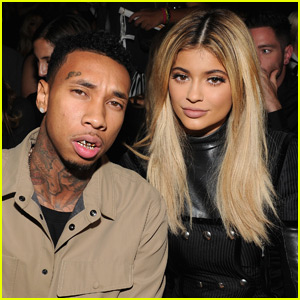Kylie Jenner Keeps a Framed Mugshot of Boyfriend Tyga In Her Living Room