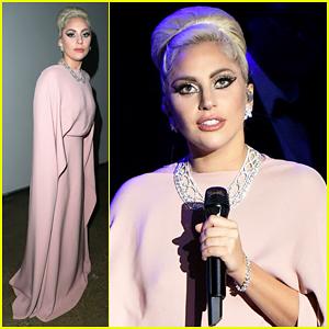 Lady Gaga Performs Jazzy Ryan Murphy Tribute At amfAR Inspiration Gala!