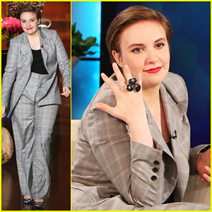 Lena Dunham Opens Up About Marriage On 'Ellen' - Watch Here!