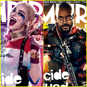 Margot Robbie & Will Smith Are Harley Quinn & Deadshot in New 'Suicide Squad' Images!