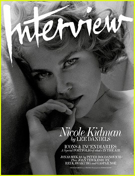 Nicole Kidman Stuns in 'Interview' October 2015