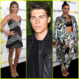 Sarah Hyland & Kat Graham Bring Chic Style to Teen Vogue's Young Hollywood Party