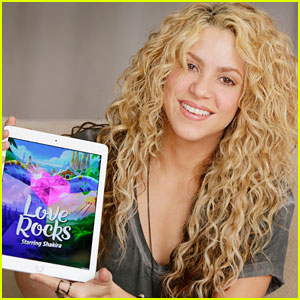 Shakira Celebrates the Release of Her Game 'Love Rocks'