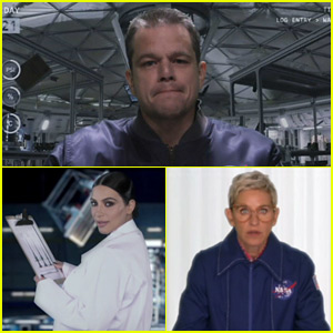 Matt Damon & Kim Kardashian Are 'Stuck on Uranus' - Watch the Fake Trailer!