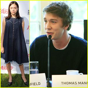 Bel Powley & Thomas Mann Join Variety For Brunch at Hamptons Film Festival