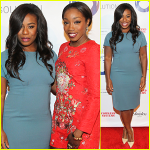 Uzo Aduba & Estelle Team Up At Resolution Project's Resolve Gala 2015!