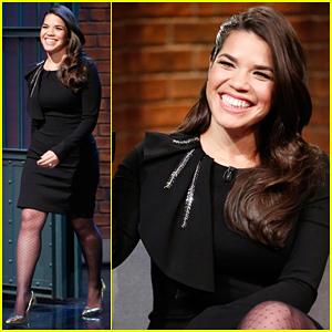 America Ferrera Talks Crazy Vegas Trip with 'Superstore' Cast - Watch Here!