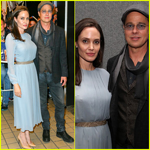 Angelina Jolie & Brad Pitt Couple Up at 'By the Sea' Screening