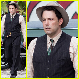 Ben Affleck Seen in Costume on 'Live By Night' Set - First Photos!