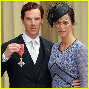 Benedict Cumberbatch Honored By Queen Elizabeth II