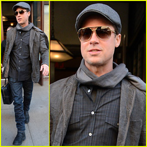 Brad Pitt Gushes About Hi