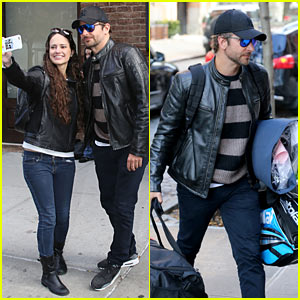 Bradley Cooper Visits Irina Shayk's Apartment After Attending Adele Concert Taping Together