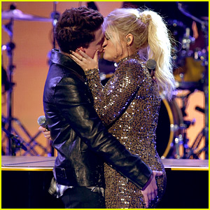 Charlie Puth on Meghan Trainor AMAs Kiss: 'We're Just Friends!'