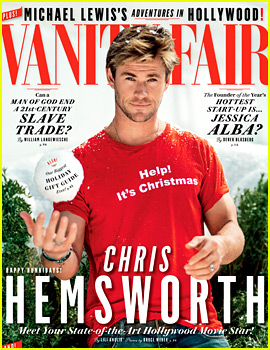 Chris Hemsworth Cuddles with Kittens for 'Vanity Fair' Video