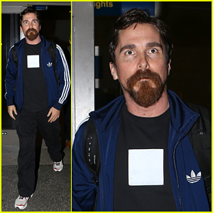 Christian Bale Makes Rare Appearance with New Haircut