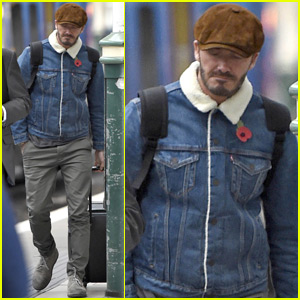 David Beckham Has a Father-Son Dinner With Brooklyn