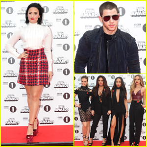 Demi Lovato & Little Mix Glam Up The Radio 1 Teen Awards 2015