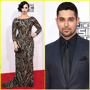 Demi Lovato & Wilmer Valderrama Make It a Date Night at the AMAs 2015!
