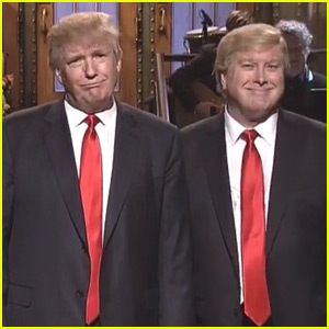 Donald Trump Gets Heckled During 'SNL' Monologue - Watch Now!