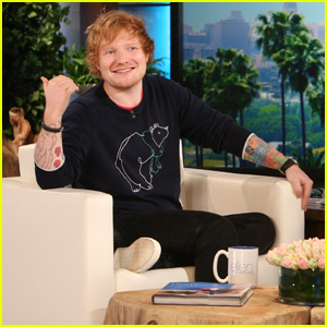 Ed Sheeran Talks Quitting Smoking Cold Turkey on 'Ellen' (Video)