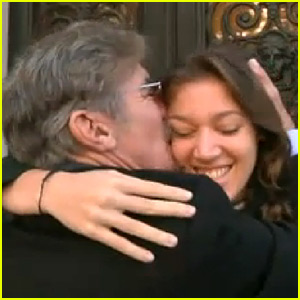 Geraldo Rivera Flies to Paris, Films Reunion with Daughter