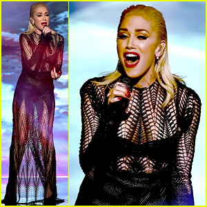 Gwen Stefani's AMAs 2015 Performance of 'Used to Love You' - Watch the Video!