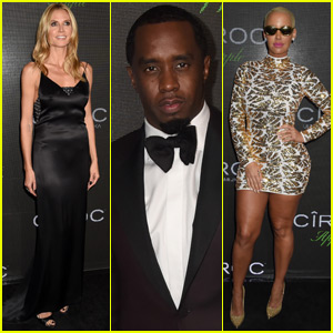Heidi Klum & Amber Rose Party for Diddy's 46th Birthday