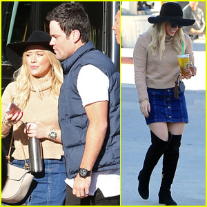 Hilary Duff Reunites With Ex-Husband Mike Comrie For Holiday Shopping