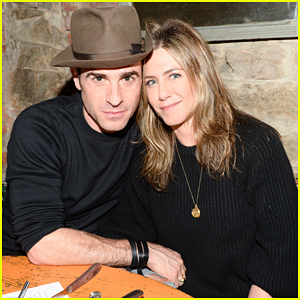 Jennifer Aniston & Justin Theroux Help Toast Scott Campbell's Tattoo Project 'Whole Glory'!
