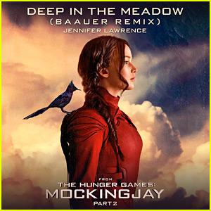Jennifer Lawrence: 'Deep in the Meadow' Full Remix & Lyrics!