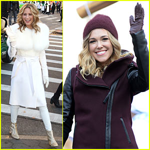 Rachel Platten & Jennifer Nettles Float Their Way Through Macy's Thanksgiving Day Parade