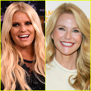 Jessica Simpson Dresses as Christie Brinkley for Halloween, Christie Responds