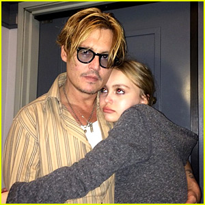 Johnny Depp Talks About Lily-Rose