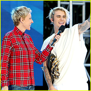 Justin Bieber Performs 'Purpose' Concert on 'Ellen' - Watch Now!